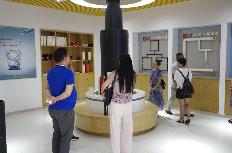 娱乐世界平台手机app展厅一角