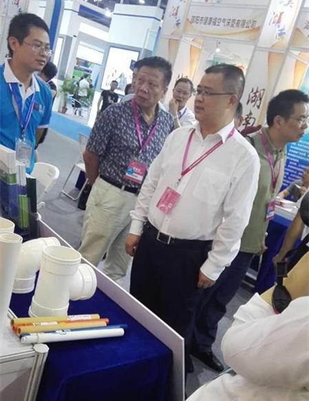 邓权塑业中博会
