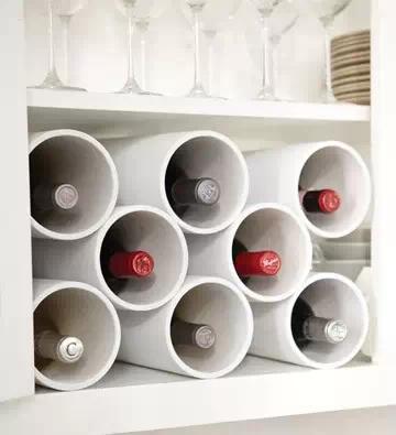pvc弯管用途的新用法,pvc管改装成插花瓶