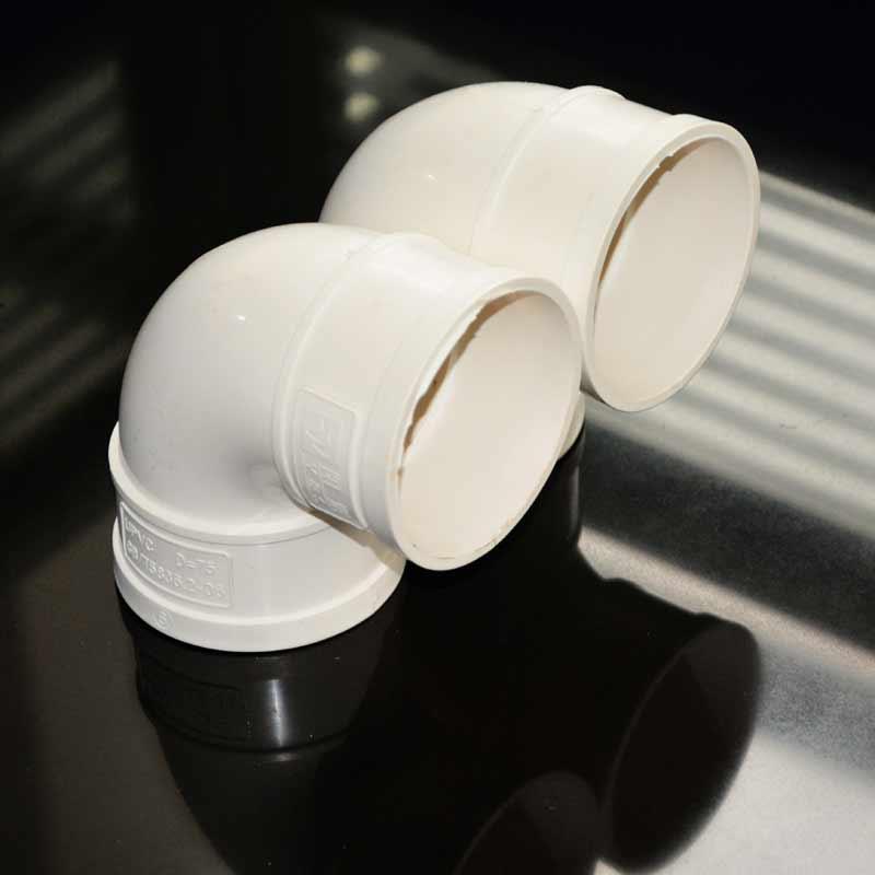 PVC排水配件 90度弯头