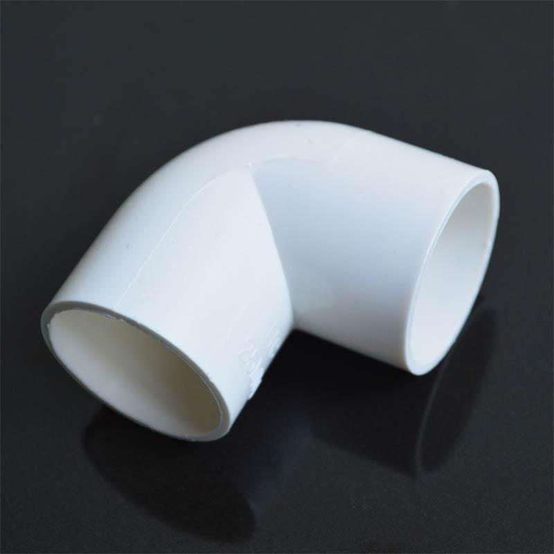 PVC配件厂家90度弯头