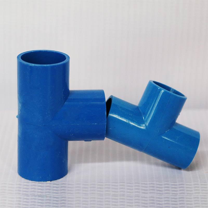 PVC线管正三通(红蓝)