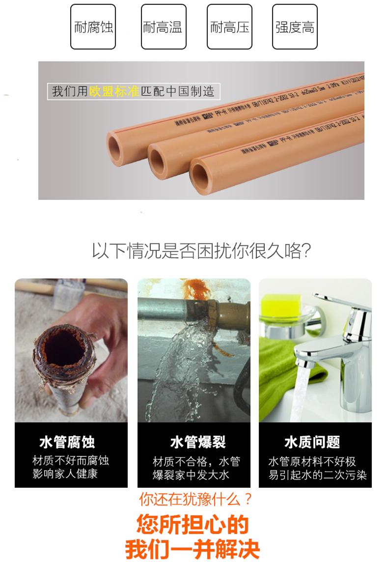 PPR水管标准